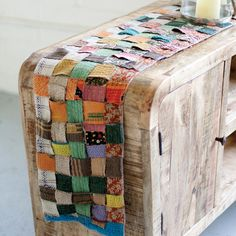 Add some flavor to your kitchen table. (And not just with herbs and salt.) This handmade kantha runner has been created from recycled fabrics, and proves that what's old is new again.  Find the Patchwork Table Runner, as seen in the End of Summer Clearance: Kitchen Collection at http://dotandbo.com/collections/end-of-summer-clearance-kitchen?utm_source=pinterest&utm_medium=organic&db_sku=95064