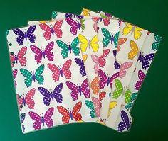 Filofax-A5-Organiser-Planner-Stunning-Spotty-Butterflies-set-of-5-Laminated Planner Organization, Office Organization, Organisers, Filofax, A5, Planners, Butterflies, Organization, Work Office Organization