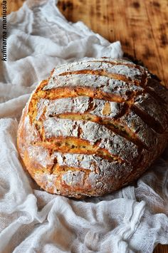 Chleb na kefirze pieczony w garnku Eat Me Drink Me, Food And Drink, Kefir, Desserts, Recipes, Kitchens, Eat Lunch, Bread, Backen