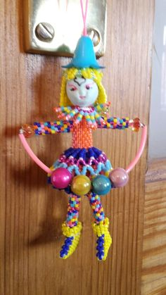 Circus girl design by Ann mockford, made by me
