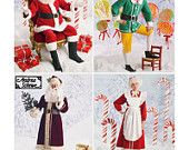 Simplicity Sewing Pattern 4393 Misses, Men's Holiday/Christmas Costumes