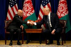 President Donald Trump and Afghan President Ashraf Ghani on Thursday backed having companies from the United States develop Afghanistan's reserves of rare earth minerals, despite formidable obstacles to industrial mining in the country. Ashraf Ghani, Stock Market Quotes, Surprise Visit, Financial News, Us Presidents, Afghanistan, Geology, Proposal, Donald Trump