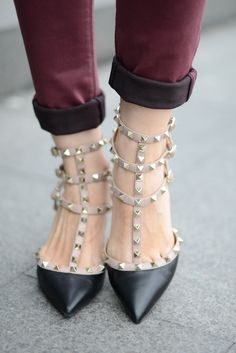 #fashion #shoes ... Oh My Vogue !: Oxblood