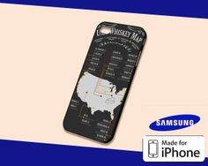 US Whiskey Map Case for iPhone 5s/5c iPhone 4/4s and by KopiMiring, $13.99