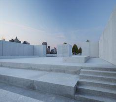 FDR Four Freedoms Park - Louis Khan