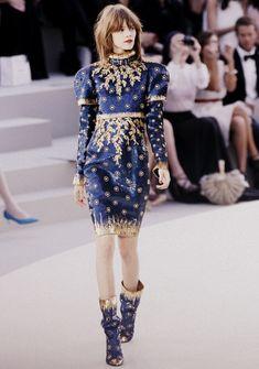 Freja Beha Erichsen for Chanel Haute Couture Autumn/Winter 2010