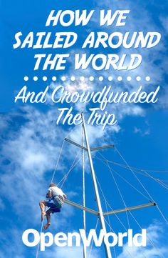 """They're young, they're in love, and they're traveling around the world in a sailboat. In this podcast meet Riley and Elayna, the traveling Aussie couple from """"Sailing La Vagabonde,"""" as we talk about their epic journey circumnavigating the globe in their sailboat."""