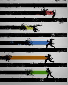 Fight Black   Street Fighter art