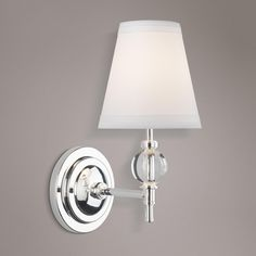 Bathroom Lights Norwich hudson valley norwich polished nickel 1-light wall sconce