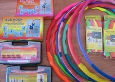 Weighted hula hoops.  I love mine!