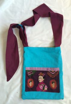 Frida Kahlo & Girasol medium reversible babywearing changing tote - 2 BAGS in ONE! by MamiMakes on Etsy Babywearing, Change, Medium, Bags, Etsy, Frida Kahlo, Handbags, Dime Bags, Baby Slings