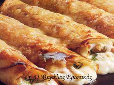 Κρέπες γεμιστές με κοτόπουλο   Ο Μεγάλος Ερωτικός Chicken Wings, Recipies, Meat, Ethnic Recipes, Food, Recipes, Essen, Meals, Yemek