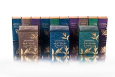 Luxury packaging for TEA by Offset Group