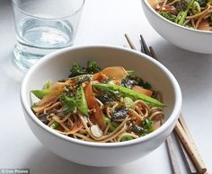 Gordon Ramsay's Soba Noodle Salad - Ultimate Home Cooking