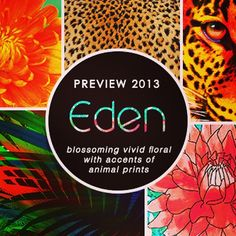 #JETS Preview Collection 13 presents EDEN! Floral fantasies with a touch of jungle...yes please! Available online now..