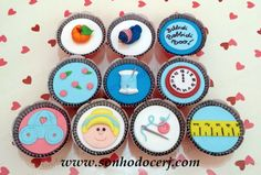 Cupcakes Cinderela!  curta nossa página no Facebook: www.facebook.com/sonhodocerj