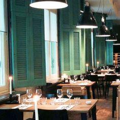 Interieurstyling horeca - portfolio van Studio AHvdK #turquoise #cafe #interior