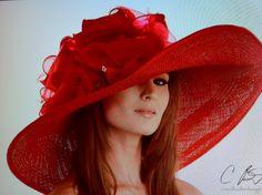 red derby hat