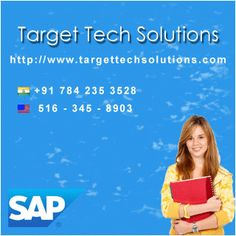 Target Tech Solutions is one of the leading IT Institutions for SAP Online Training For All Modules which is located in Hyderabad with the objective of providing a Training services for various  requirements in IT industry. Target Tech Solutions is started by  a group of highly talented faculty in their respective courses.