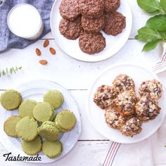 You know what's nuts?! Sweet, easy cookies that give us a delicious boost of energy.