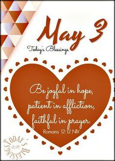 Romans 12, Prayers, Playing Cards, Faith, Joy, Playing Card Games, Glee, Prayer, Beans