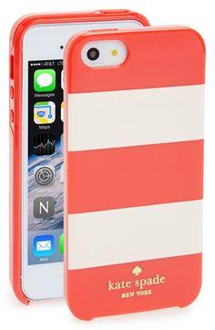Striped case #katespade
