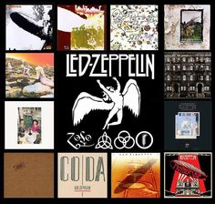 When it comes to Led Zeppelin, ALL their albums are essential albums! Note: they will release deluxe reissues of their first three albums in With highly anticipated, unreleased studio materials Led Zeppelin Album Covers, Led Zeppelin Albums, Jimmy Page, Robert Plant, Rush Concert, El Rock And Roll, Rock Album Covers, Greatest Rock Bands, Classic Rock