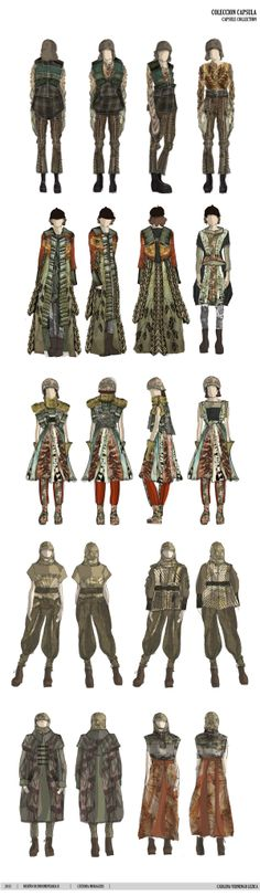 Antonio Marras by Catalina Vernengo- Capsule Collection by Catalina Vernengo Lezica, via Behance