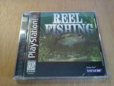 Reel Fishing PlayStation Ps1 Game Complete In Case With Instructions