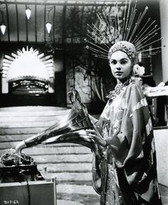 """Virginia North as """"Vulnavia"""" in """"The Abominable Dr. Phibes"""" 1971"""