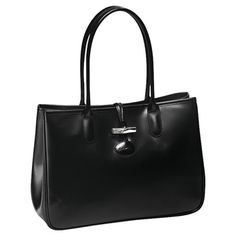 Longchamp! I want this purse!  By the time I convince myself to buy one this style will no longer be found in stores....