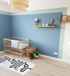 5 paint ideas for kids room - baby room - - Big Girl Rooms, Baby Boy Rooms, Room Baby, Baby Bedroom, Kids Bedroom, Denim Drift Bedroom, Girls Room Paint, Boys Room Paint Ideas, Room Ideas