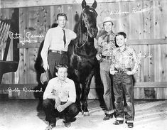 "Fury was an American western television series that aired on NBC from 1955 to1960.Starred Peter Graves as Jim Newton, who operates the Broken Wheel Ranch; Bobby Diamond, his adopted son, Joey Clark Newton, and William Fawcett as ranch hand Pete Wilkey. Roger Mobley co-starred as Homer ""Packy"" Lambert, a friend of Joey's as did Jimmy Baird as ""Pee Wee"" Jenkins. ""FURY!..The story of a horse..and a boy who loves him."""