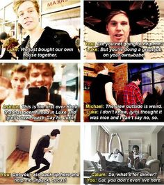 #Imagine: You and Luke's First House Together