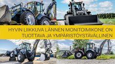 Hyvin liikkuva Lännen monitoimikone on tuottava ja ympäristöystävällinen.