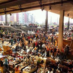 Barcelona, flea market Mercat dels Encants