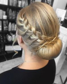 #hair #longhair #hairdo #updo #braid #braids #braidedhair #hairstyles #behindthechair #hairbrained #modernsalon #jaakata #studentbal #hiukset #kampaus #letti #nuttura #blonde