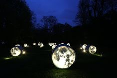 New field of light and moon-inspired art by Bruce Munro