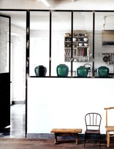 An industrial white home in Umbria Italy | Designed by Paola Navone