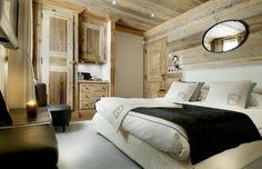 luxe ski resort in the Alps.