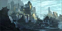 Image result for composition concept art