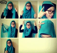 How To Wear A Hijab Fashionably [12 Tricks] #tricks #hijab