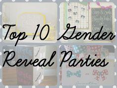 Top 10 Gender Reveal Parties   BelliesBeyond.com
