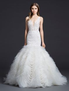 Bridal Gowns and Wedding Dresses by JLM Couture - Style 3650