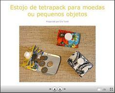Como fazer um estojo de tetrapack para moedas e pequenos objetos