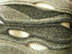 SWING OR KLUGE. Swing knitting pattern. Handmade. Ruční práce. Ручная работа. Swing knitting. Свинг или поворотное вязание, укороченные ряды.