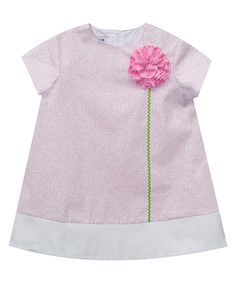 Look at this #zulilyfind! SIMI Pink Floral Shift Dress - Infant, Toddler & Girls by SIMI #zulilyfinds
