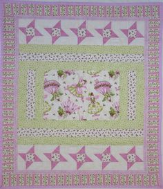 Handmade Patchwork Quilt For Kids Bella Ballerina