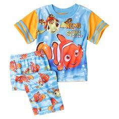 Disney® Toddler Boys' Finding Nemo 2-Piece Set - Blue