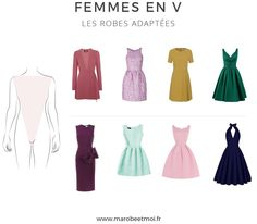 Vous voulez savoir quelle robe porter pour une morphologie en V ? Nous vous donnons toutes les astuces pour trouver la robe qui vous met en valeur !